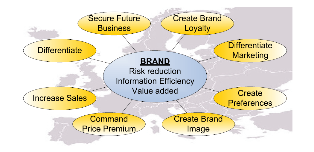 The role of B2B brands